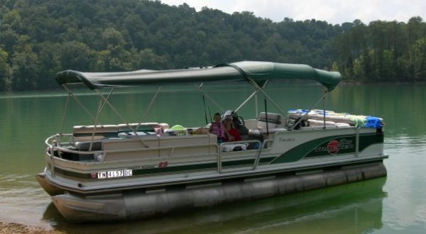 How Shallow Can Pontoon Boats Go In The Water? Windrider of The Rockies