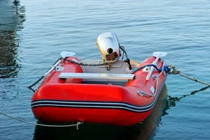 How To Lock Up An Inflatable Boat